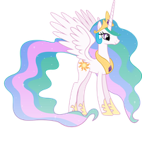 Princess Celestia Vector by Fehlung