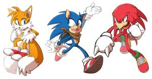 Sonic Team by TheMonstersBride