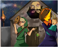 The Festival of Masks :update: by PeteyXkid