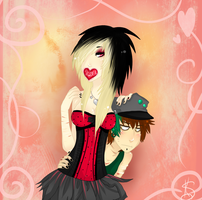 ::G:: Victoria and December by Spooks0