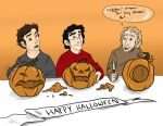 Marauders say Boo by Jacksparrowsbabe