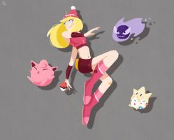 Pokemon by Ophelie-c