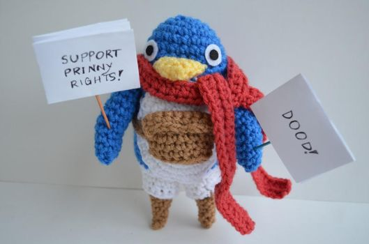 Down with Tyranny! Support Prinny Rights! by Ami-Amour