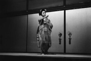 Geisha Dance, Japan by SylverClaw