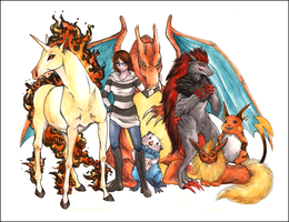 Commish: Trainer Minshi by Miyukitty