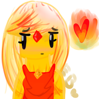 Flame Princess- But with MORE by bunnyX123