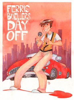 Ferris Bueller's Day Off by DIstraido
