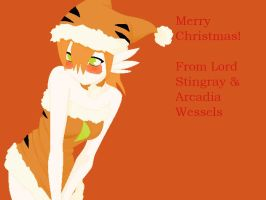 SJ OC- Merry Christmas from Lord Stingray by VoltaliatheMajestic