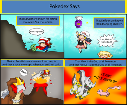 Pokedex Says by purplemagechan