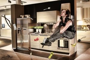 Defying Gravity Series - Kitchen by JakeHays
