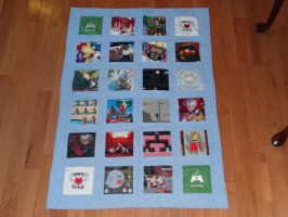 2012 Child's Play Charity quilt 1 by quiltoni