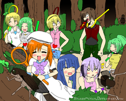 Cicada Catching by Staris-Chan