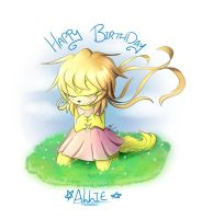 Allie (B Day) by lazyfoxxx