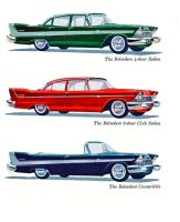 age of chrome and fins : 1958 Plymouth by Peterhoff3