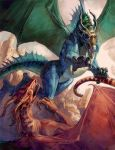 Dragons by thegryph