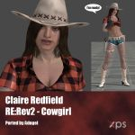 Claire Redfield RE:Rev2 Cowgirl by Adngel