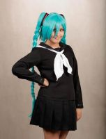 Miku Hatsune - School Girl Inspired by FruityRumpus413