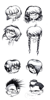 Character Haircuts by varletlegion