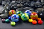 It's a Colorful Life - Lampwork Glass Beads by andromeda
