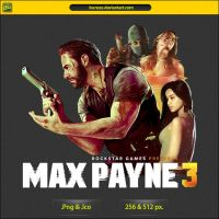 Max Payne 3 - ICON v2 by IvanCEs