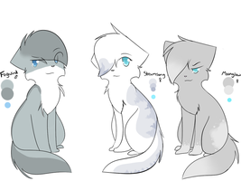 Fogwind,Streamsong and Moonglow Refs by GoldenSpirits