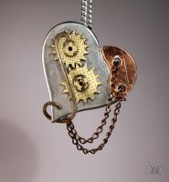 Steampunk heart 33 by TheCraftsman