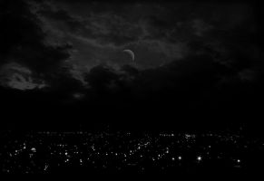 Night City Sky by fadexawayxx