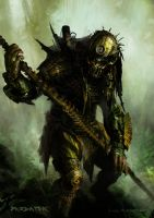 Predator tribute by Killborn
