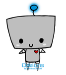 Chibby the Chibibot-Owner:PathlessObject4 by path-o-logical