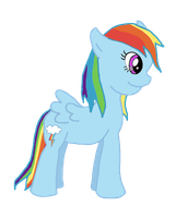 REQUEST: Rainbow Dash by WhizzPop