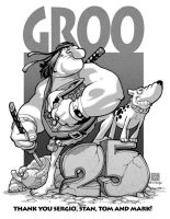 groo 25th by bernardchang