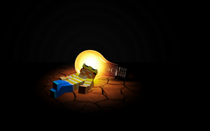 Minecraft Wallpaper 10: Sleeping On Dat Bulb by CraftMeJason