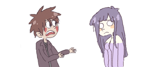 Y u so shy Hinata by BaronBamboozle