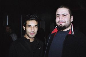 Oktay and Semih by ozgurcan