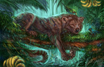 Jungle sleep by FlashW