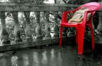 My Red chair by vipindhanurdharan