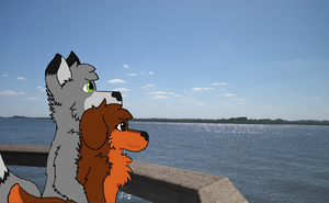 View of the River by Nantuckett