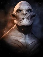 Azog The Defiler by liquid-venom