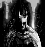 Batman by MrRedButcher