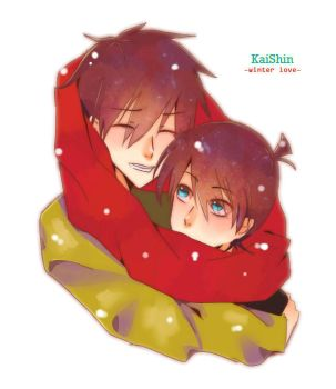 KaiShin : Winter Love by Chokinis