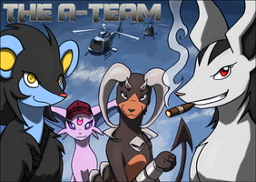 The A Team by kitfox-crimson
