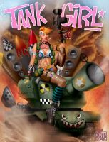 Tank Girl by timterrenal
