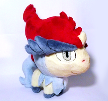 Keldeo Pokedoll by xSystem