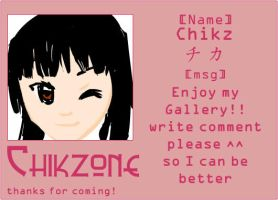 Chikzone ID by t3nshi