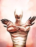 The Pale Man by Fishmas
