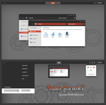 Numix Theme For Windows 7 by cu88