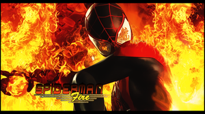 Spiderman Fire by Onbush