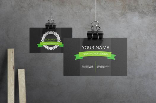 Verdant - Business Card by macrochromatic