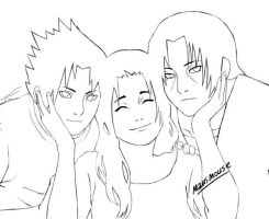 Uchiha Family by mausmouse