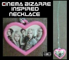 -CinBiz- Inspired Necklace 2 by Cin-DxBizarre